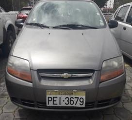 AUTOMÓVIL CHEVROLET AVEO ACTIVO 1.6L 5P STD 2011