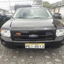 SUV FORD ESCAPE HIBRIDO U5K 2010 NEGRO