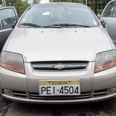 AUTOMÓVIL CHEVROLET AVEO ACTIVO 1.6L 5P STD 2010