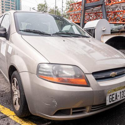 AUTOMÓVIL CHEVROLET AVEO ACTIVO PLOMO 1,6 5P 2010