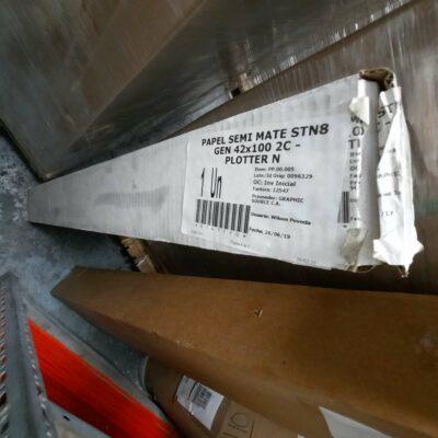 PAPEL SEMI MATE STN8 GEN 42x100 2C - PLOTTER N