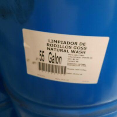 LIMPIADOR DE RODILLOS GOSS NATURAL WASH