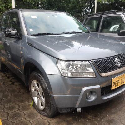 SUV SUZUKI GRAND VITARA SZ SP 4X4 2,7L TA  2008 GRIS