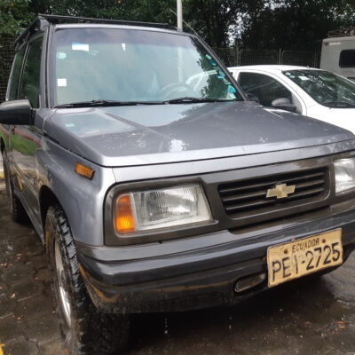 SUV CHEVROLET VITARA STD TM 4X4 1,6 L 3P 2011 PLOMO