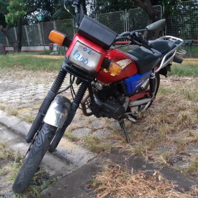 MOTOCICLETA MOTOR UNO FORTE 150 2011 ROJO